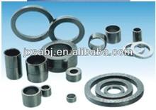 graphite ring seals/mechanical seals.