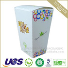 white paper frozen food box for meat