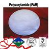 Anionic and cationic polyacrylamide