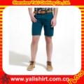 แฟชั่นผ้าฝ้ายระบายอากาศได้ผู้ชายลำลองกางเกงขาสั้นยีนส์เอวสูงขายส่ง
