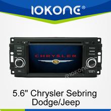 2din car dvd player radio bluetooth tv gps navigation Chrysler Sebring/Dodge/Jeep
