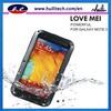 2013 love mei waterproof lunatiking taktiking case for samsung galaxy note 3 N9000