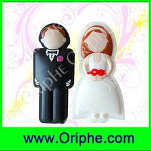 Plastics, bride, groom, wedding, gifts, love,USB Flash Drive (UPVC0131)