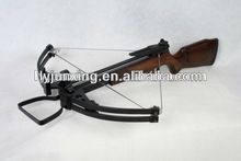 Heavy duty wood compound hunting crossbow