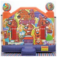 Scooby doo bouncy castle inflatables EN14960