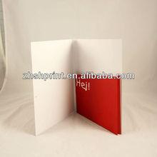 Custom printed paper folders with pocket