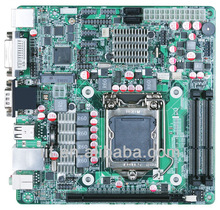 [In Stock]IMIH61-MITX H61 LGA1155 Motherboard, supports i3, i5, i7 DDR3 memory, Max. 4GB, 20-pin ATX-Power input, 10 COM ports