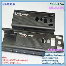 black extrusion aluminum box shenzhen