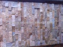rusty slate yellow wooden slate