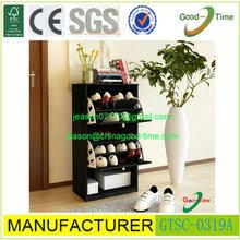 black walnut wooden shoe rack,high quality wooden shoe cabinet,small wooden shoe rack