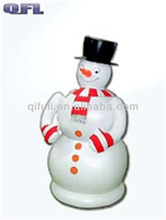 Giant Inflatable Snow Man Christmas Yard Decorations