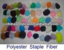 polyester staple fiber polyester for spinning
