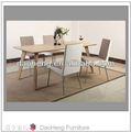 modern metal e vidro mesas de jantar e cadeiras