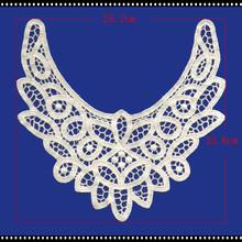 F/LC165 100% cotton crochet lace collar