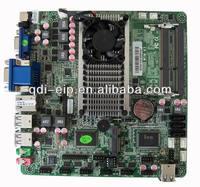 Onboard Celeron 1037u Industrial Thin Mini ITX Motherboard With 3*VGA