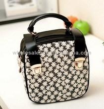 Fashion Lady Small Square Handbag Bag Woman Hand Bag Square Shape
