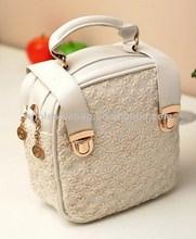 Fashion Lady Small Square Handbag Bag Woman Bag Hand Bag Square Shape