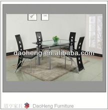 mirrored dining room table base