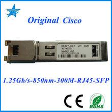 Original Cisco DS-SFP-GE-T SFP 850nm 1.25G 100M cisco copper sfp