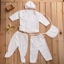 Cheap hot sale 5pcs/set cotton baby girl underwear