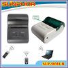 Sunphor 58mm cheap thermal bill printer,portable type