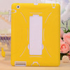 Combo Silicone case for ipad air, stand robot case for ipad 5 cover