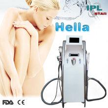 IPL + RF + Elight + Vacuum multifunction machine with FDA CE approved