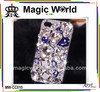 luxury 3D rhinestone crystal bling cell phone case for iphone5