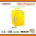 amarelo freezer portátil 12l 60 watts para a moda