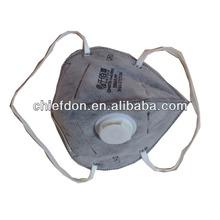 FFP3 foldable masks carbon with valve