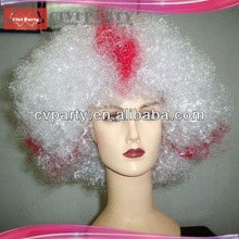 Party Wig Fashion wig Curly wig fine welded mono hairpiece