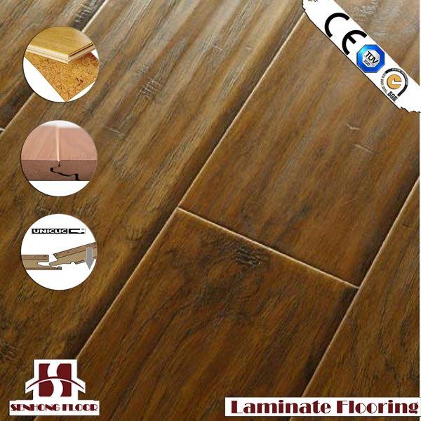 Hot wood look rubber flooring buy wood look rubber for Rubber hardwood flooring