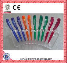 fancy cheap best writing promotional tape measure ball pen
