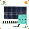 2013 portable 70w solar home system for indoor lighting