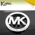 MK fashion handbag metal logo labels shoelace charm metal