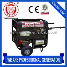 12v dc portable petrol generator/12v generator/220/400 volt generator