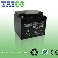 High quality Maintenance free Sealed Lead Acid solar rechargeable battery 12v 40ah