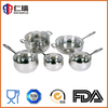 10 pcs 304 stainless steel kitchenware,cookware sets,home ware