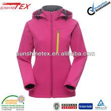 promotional oil field winter jacket softshell jacket