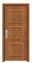 fashion design wooden door grill design