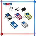 La venta caliente barato MP3 1.5 pulgadas pantalla con impresión de la insignia