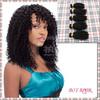 Made in china top grade 5a cheap kinky curl peruvian virgin weaving hair