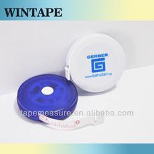 2m/Custom mini metalic diameter tape with Your Logo