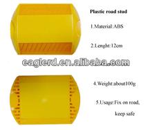 High brightness plastic road studs