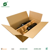 BROWN RSC CORRUGATED CARDBOARD WINES BOXES FR110195