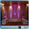 elegant fabric drape for wedding backdrop design