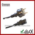 power cord power supply cord cee plug and socket