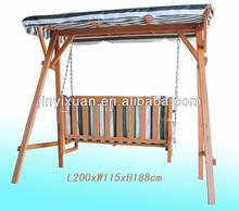 Wooden Garden Swings for Adults / Outdoor Garden Wooden Chair Swing