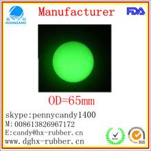 Dongguan manufacturer high bouncy 24m,26m,30mm,32mm,35mm,40mm, hollow rubber toy balls