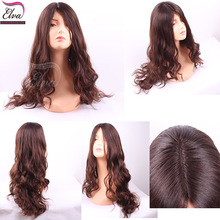 Best selling factory price high quality jewish band fall wigs
